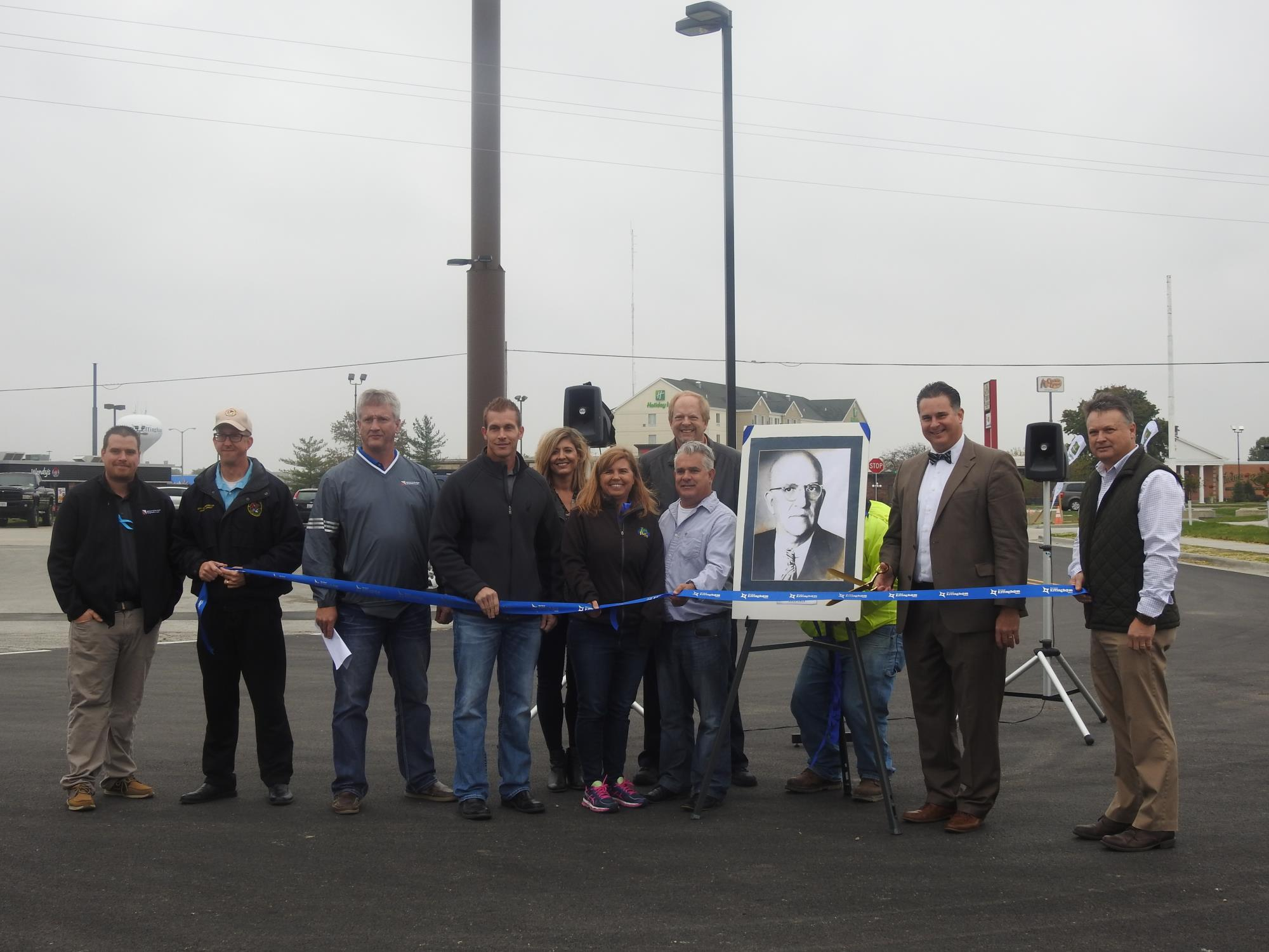 Damron Court Ribbon Cutting