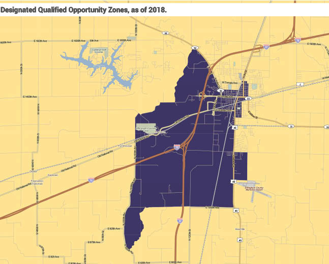 opportunity zone boundaries