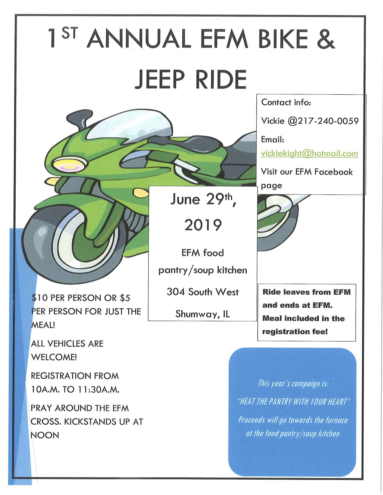 EFM Bike & Jeep Ride